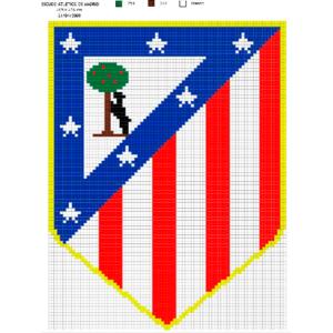 Escudo Atlético de Madrid grande