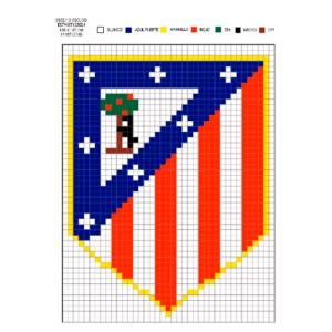 Escudo Atlético de Madrid pequeño