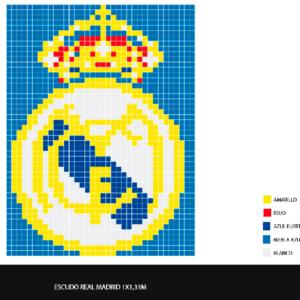 Escudo Real Madrid pequeño