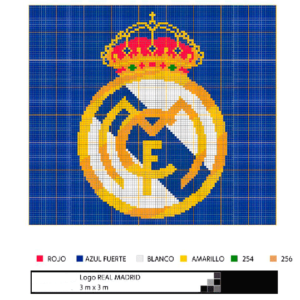 Escudo Real Madrid grande