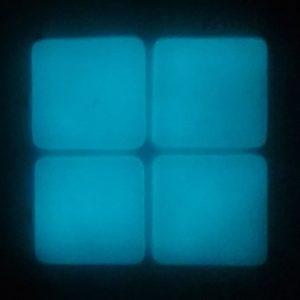 Luminiscente 01 (luz azul)